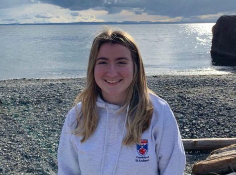 Ellie Smith will study in Scotland at St. Andrews University